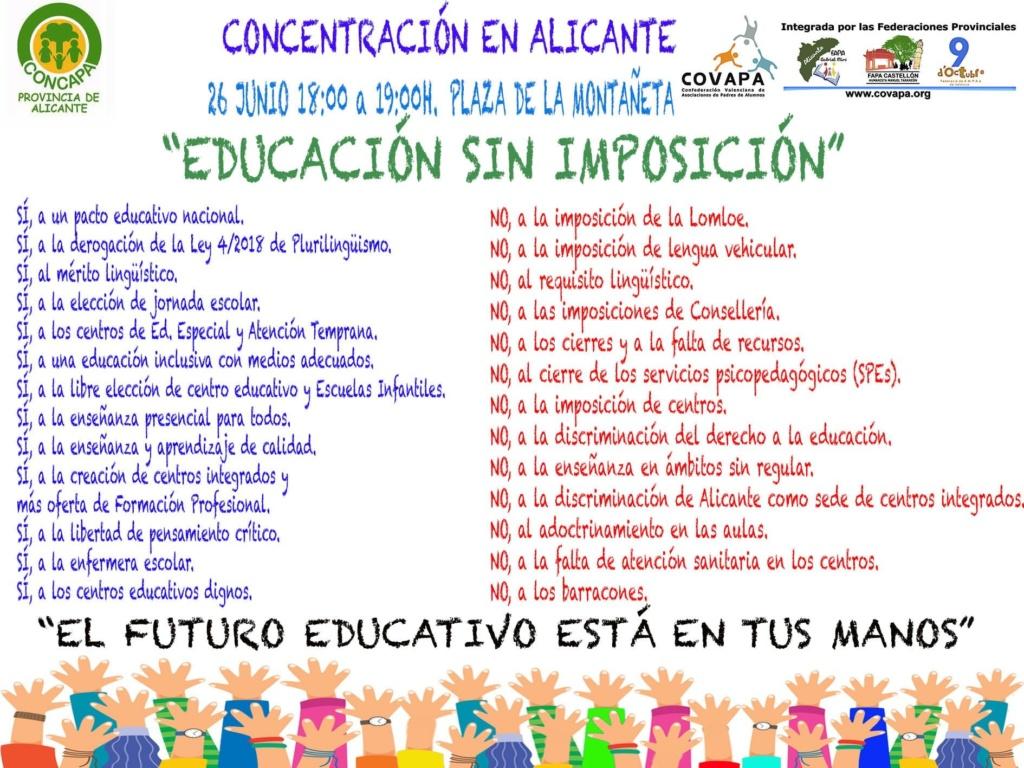 EDUCACIÓN SIN IMPOSICIÓN